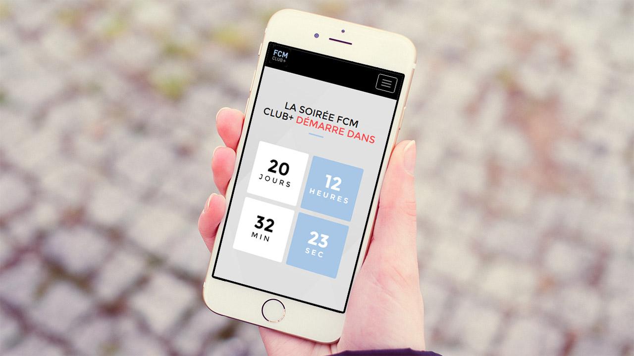 Référence | FCM Club+ : site mobile