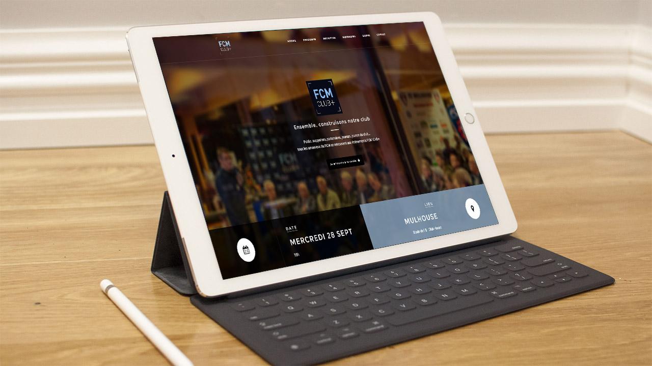 Référence | FCM Club+ : site tablette