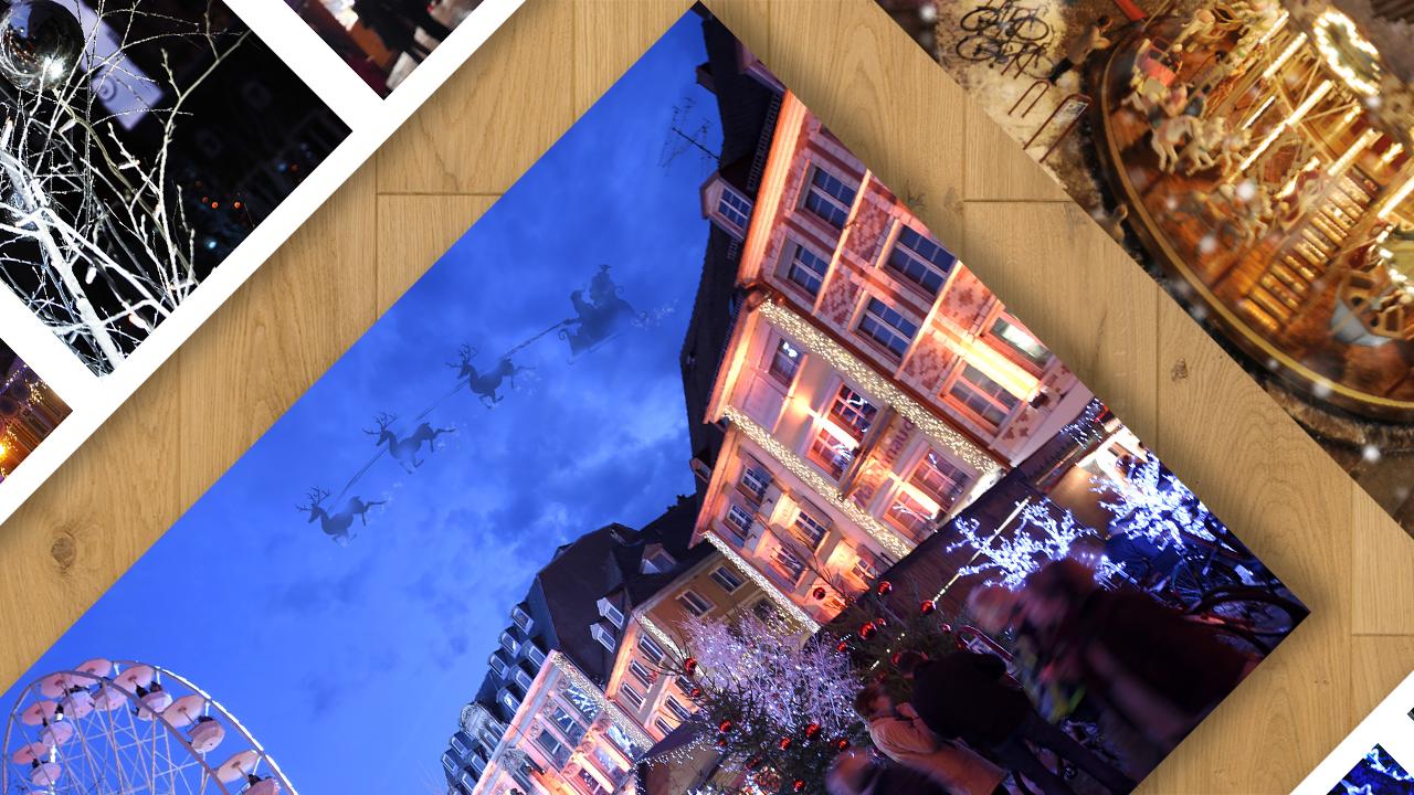 Référence | Noêl à Mulhouse : cartes postales